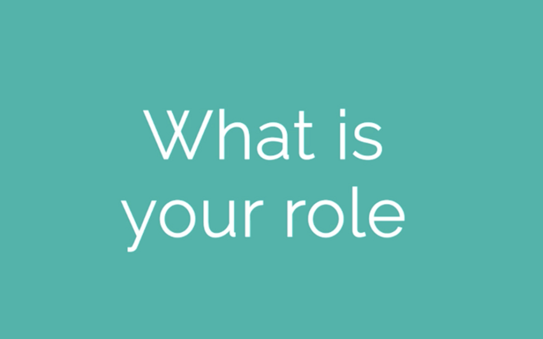 What is Your Role as a Teacher?